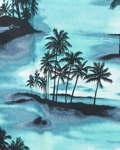 5 Sundays Floral Short Sleeve Shirt Blue 9507202 Billabong