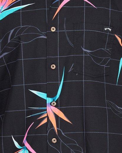 4 Sundays Floral Short Sleeve Shirt Black 9507202 Billabong