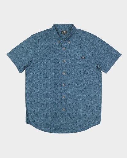5 Sundays Mini Short Sleeve Shirt Blue 9507203 Billabong