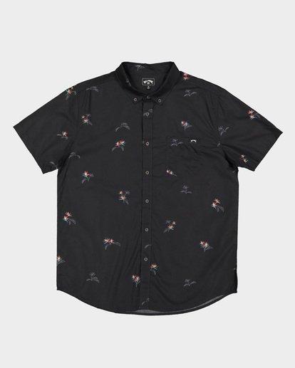 5 Sundays Mini Short Sleeve Shirt Black 9507203 Billabong