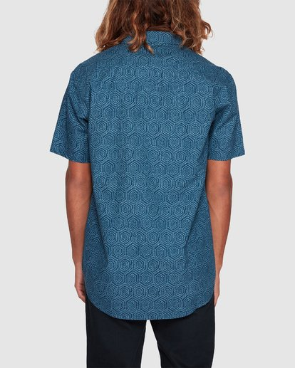 2 Sundays Mini Short Sleeve Shirt Blue 9507203 Billabong