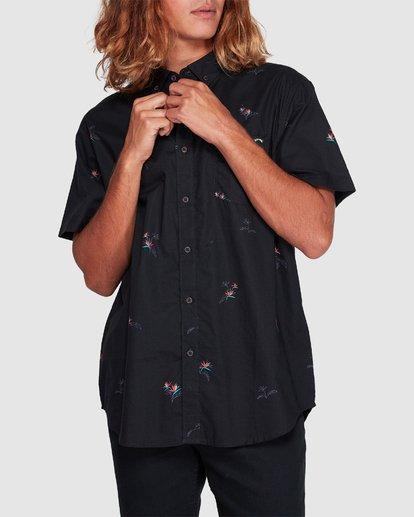 3 Sundays Mini Short Sleeve Shirt Black 9507203 Billabong