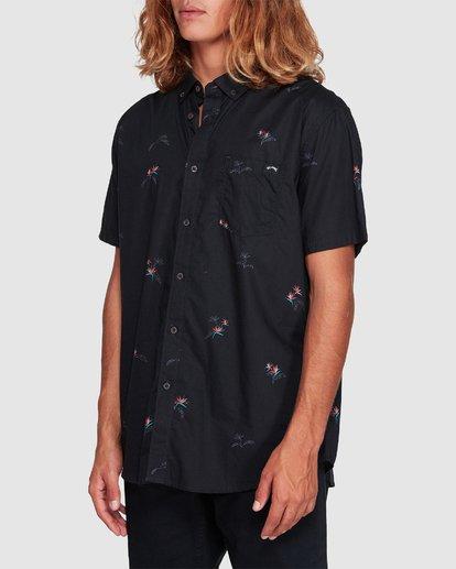 1 Sundays Mini Short Sleeve Shirt Black 9507203 Billabong