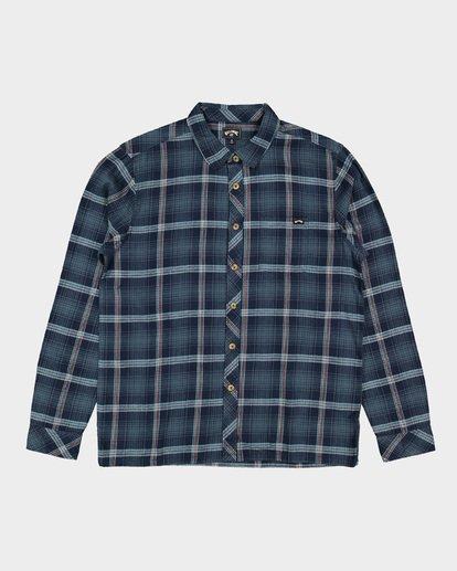 5 Wave Wash Flannel Shirt Blue 9507207 Billabong