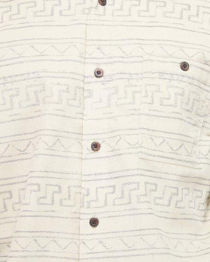 5 Tribe Mini Cord Long Sleeve Shirt Beige 9507208 Billabong