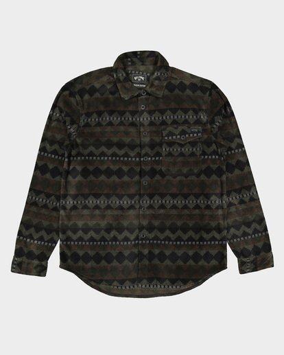 5 Furnace Flannel Shirt Camo 9507210 Billabong