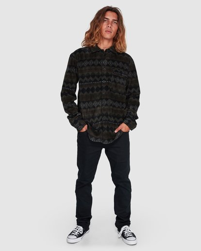 6 Furnace Flannel Shirt Camo 9507210 Billabong