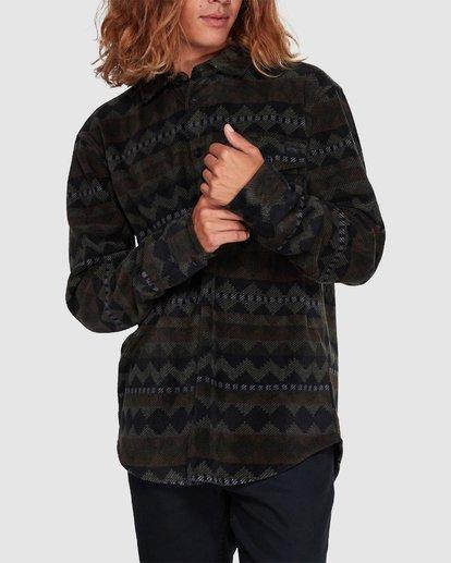 3 Furnace Flannel Shirt Camo 9507210 Billabong