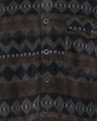4 Furnace Flannel Shirt Camo 9507210 Billabong
