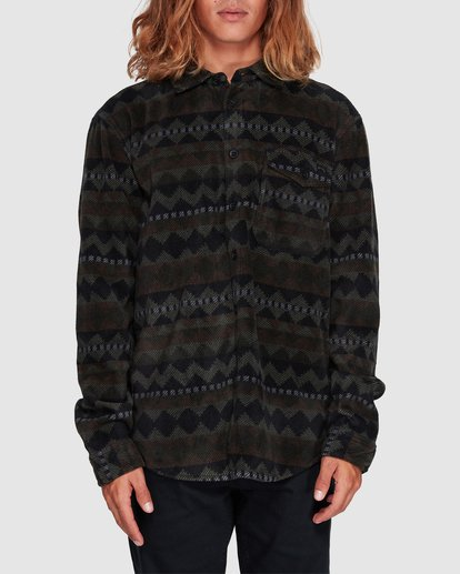 0 Furnace Flannel Shirt Camo 9507210 Billabong