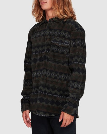 1 Furnace Flannel Shirt Camo 9507210 Billabong