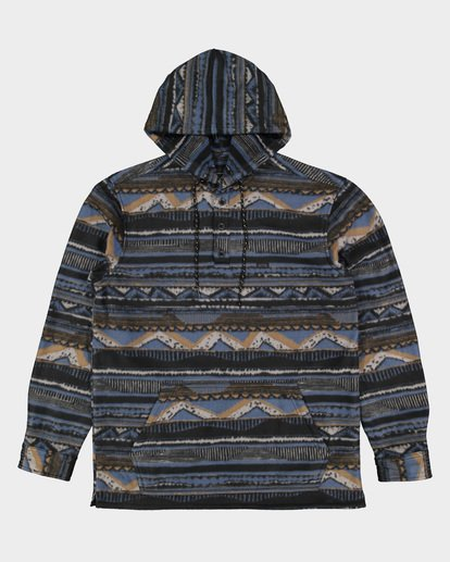 5 Furnace Anorak Long Sleeve Shirt Blue 9507211 Billabong