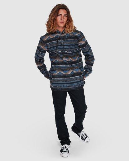 6 Furnace Anorak Long Sleeve Shirt Blue 9507211 Billabong