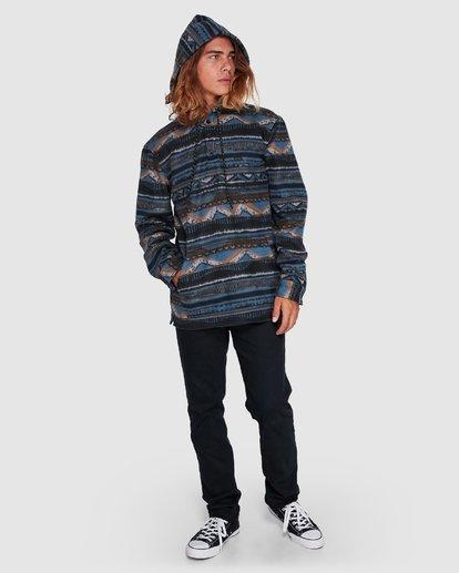 7 Furnace Anorak Long Sleeve Shirt Blue 9507211 Billabong