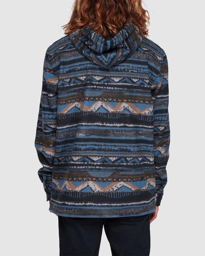 2 Furnace Anorak Long Sleeve Shirt Blue 9507211 Billabong