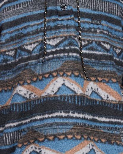 4 Furnace Anorak Long Sleeve Shirt Blue 9507211 Billabong