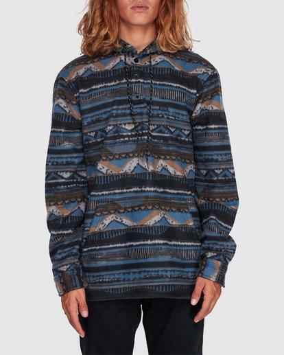 0 Furnace Anorak Long Sleeve Shirt Blue 9507211 Billabong