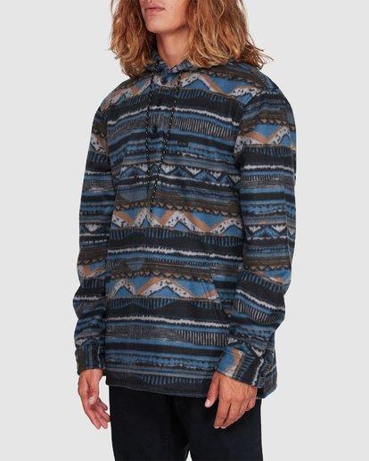 1 Furnace Anorak Long Sleeve Shirt Blue 9507211 Billabong