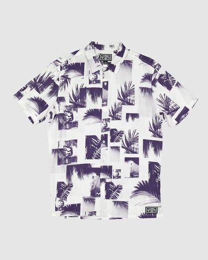 5 Sundays Thrashin Party Short Sleeve Shirt White 9507218 Billabong