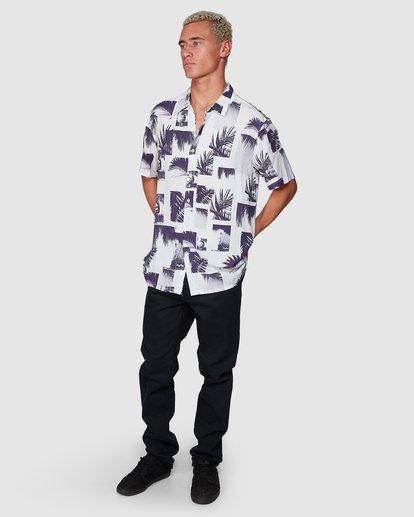 6 Sundays Thrashin Party Short Sleeve Shirt White 9507218 Billabong
