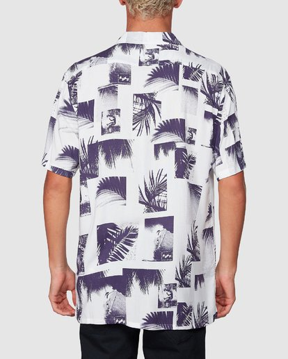 2 Sundays Thrashin Party Short Sleeve Shirt White 9507218 Billabong