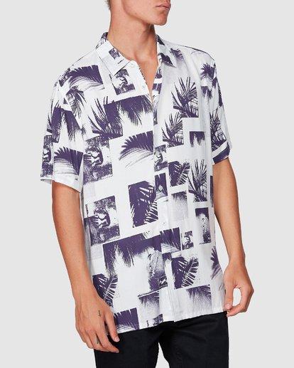 3 Sundays Thrashin Party Short Sleeve Shirt White 9507218 Billabong