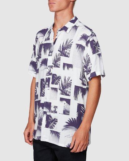 1 Sundays Thrashin Party Short Sleeve Shirt White 9507218 Billabong