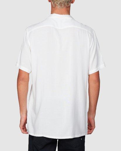 2 Stubbies Floral Short Sleeve Shirt Beige 9507220M Billabong