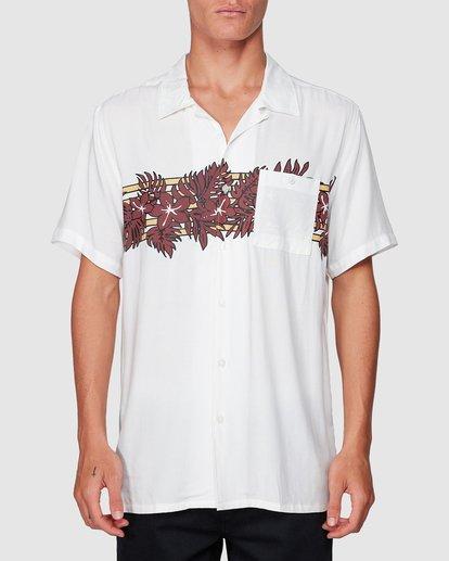 0 Stubbies Floral Short Sleeve Shirt Beige 9507220M Billabong
