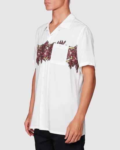 1 Stubbies Floral Short Sleeve Shirt Beige 9507220M Billabong