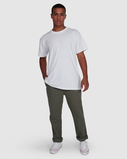 10 Larry Twill Pants Green 9507309 Billabong