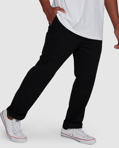 6 Larry Twill Pants Black 9507309 Billabong