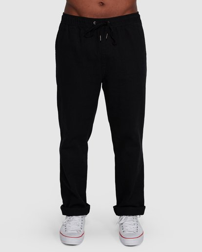 0 Larry Twill Pants Black 9507309 Billabong