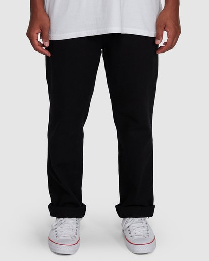 3 Larry Twill Pants Black 9507309 Billabong