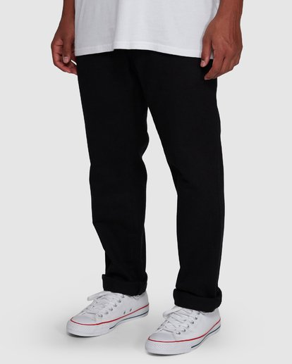 4 Larry Twill Pants Black 9507309 Billabong