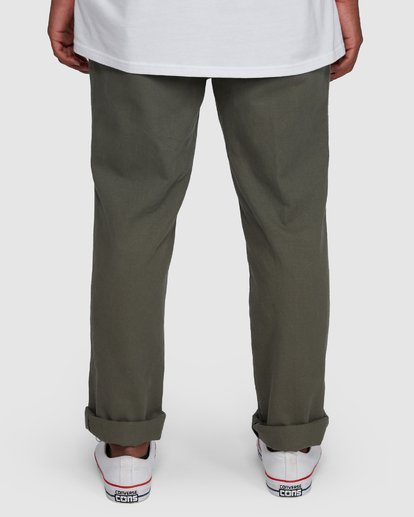 5 Larry Twill Pants Green 9507309 Billabong
