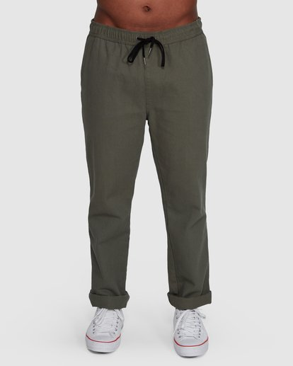 0 Larry Twill Pants Green 9507309 Billabong
