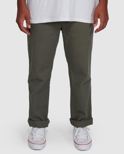 3 Larry Twill Pants Green 9507309 Billabong