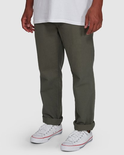 4 Larry Twill Pants Green 9507309 Billabong