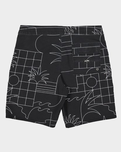 1 Sundays Lt Boardshorts Black 9507414 Billabong