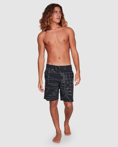 6 Sundays Lt Boardshorts Black 9507414 Billabong