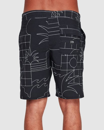 4 Sundays Lt Boardshorts Black 9507414 Billabong