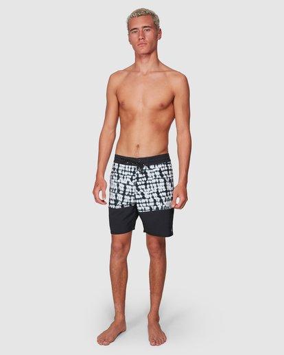 6 Tie Dye Sundays Split Boardshorts Black 9507418 Billabong