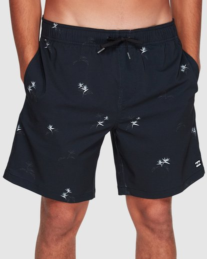 2 Sundays Layback Boardshorts Grey 9507421 Billabong