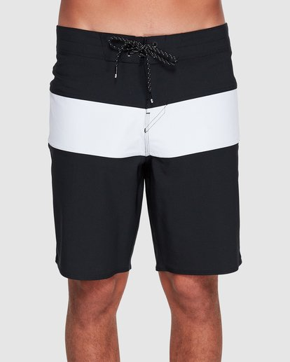 2 Tribong Pro Solid Boardshorts Black 9507428 Billabong