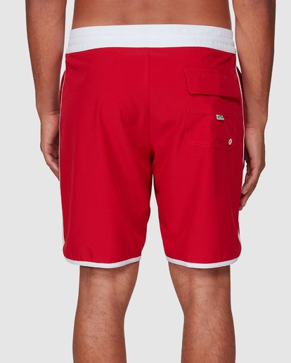 4 Stubbies 73 Lt Boardshorts Red 9507430M Billabong