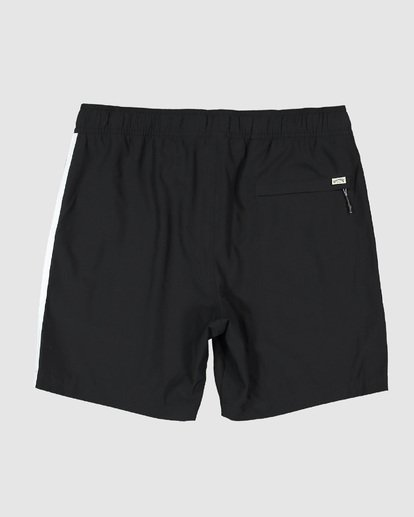 1 Stubbies 73 Elastic Walkshorts Black 9507431M Billabong