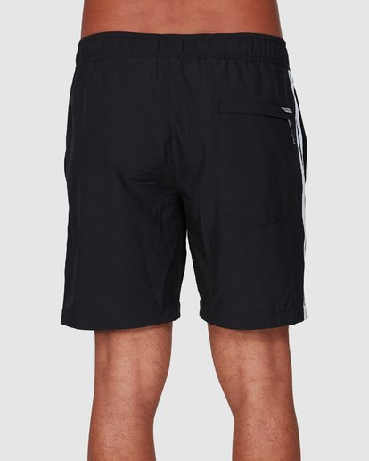 3 Stubbies 73 Elastic Walkshorts Black 9507431M Billabong