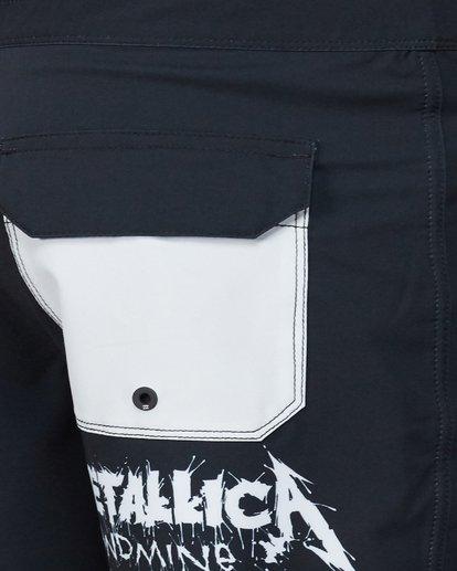 5 Metallica Landmine Boardshorts Black 9507442 Billabong