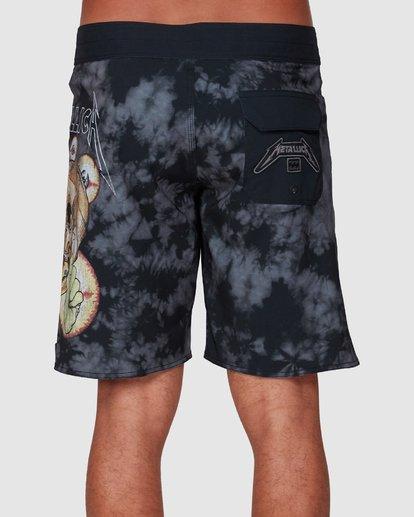4 Metallica Shortest Straw Boardshorts Black 9507443 Billabong
